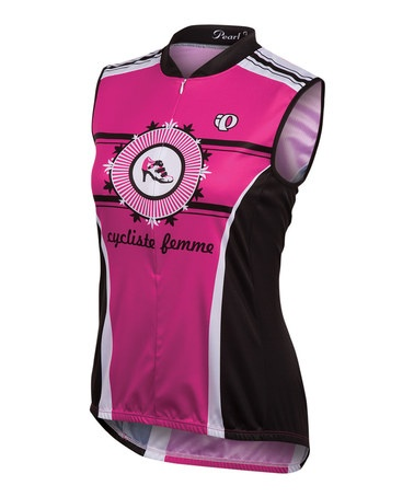Take a look at this Pink Punch Cycliste Femme SELECT LTD Cycling Sleeveless Jersey by Pearl Izumi on @zulily today!