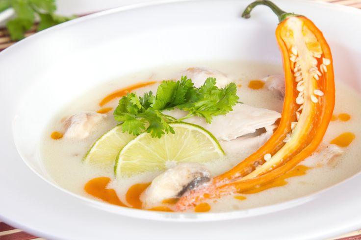 Тайский суп курица