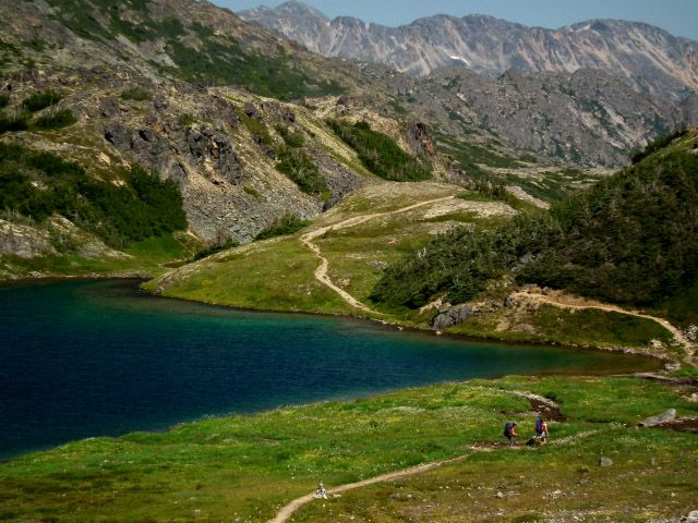 Chilkoot trail! Yukon Alaska! Would love to go back to Skagway and hike this!