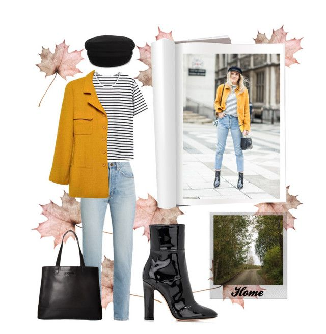 """Fall #5"" by siggan22 on Polyvore featuring Yves Saint Laurent, Chanel, Étoile Isabel Marant, Gianvito Rossi, Polaroid and SOREL"
