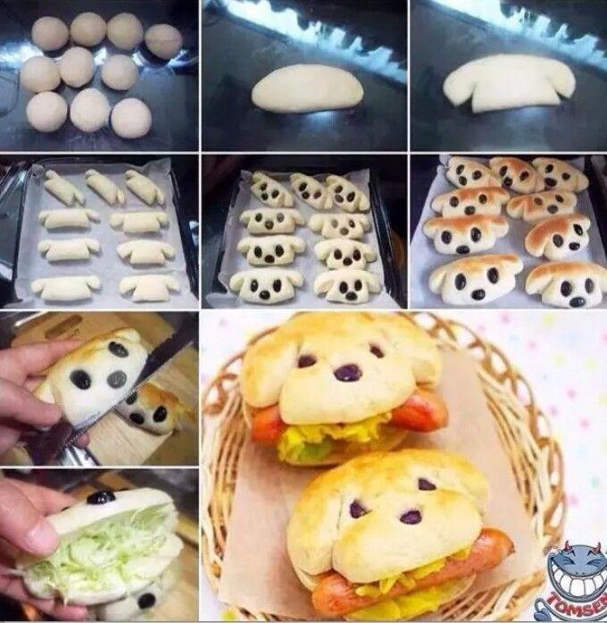 Sweet hotdog, children's food, Grate for birthdays, fun food