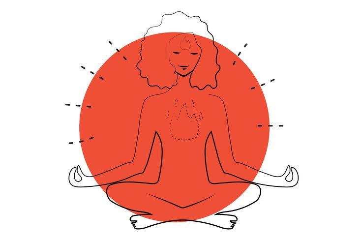 Prana Power: Kapalbhati Pranayama, Breath of Fire
