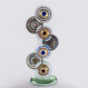 Eyes - Glass sculpture