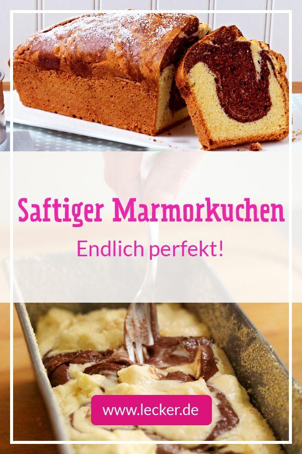 Saftiger Marmorkuchen Klassisch Und Raffiniert Kuchen Rezepte