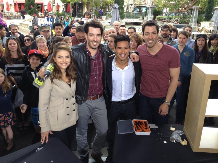 hgtv property brothers and mario lopez miss munoz don t