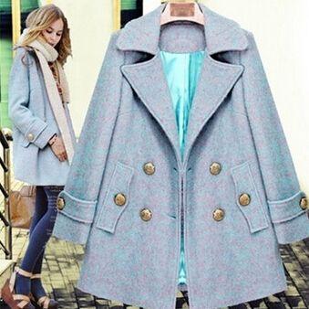 50.26$  Buy here - New Designed Women's Popular Woolen Trench Coat Lady Fashion Celebrity Double-breasted Winter Overcoat Jacket   #magazineonlinewebsite