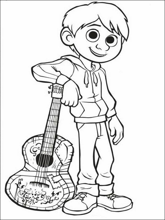 Desenhos Para Colorir Para Criancas Para Imprimir Coco 7 Paginas