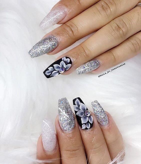 25 Latest And Elegant 3d Nail Art Design Ideas Top Fashion 3d Nail Art Designs Fashion Nails Elegant Nail Art