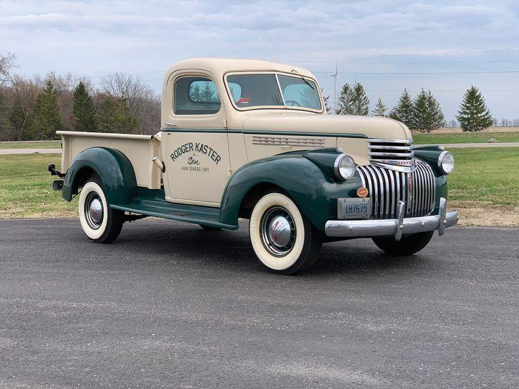 Rm Sotheby39s 1946 Chevrolet Pickup Auburn Spring 201 Chevrolet Autos Und Motorräder Oldtimer Fahrzeuge