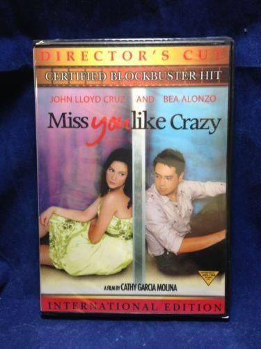 Miss You Like Crazy John Lloyd Cruz & Bea Alonzo Filipino DVD