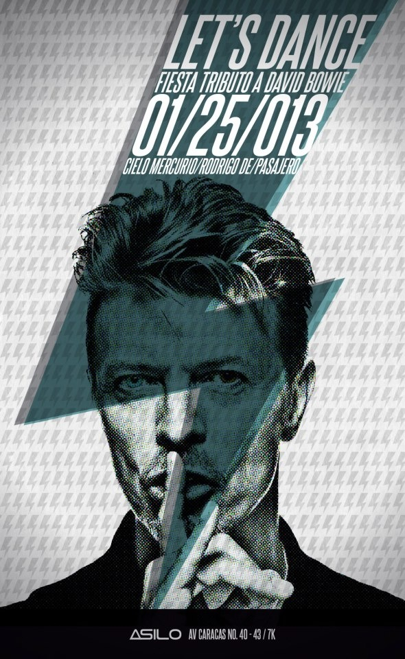 En Bogotá: Let's Dance! Tributo a David Bowie. Toda la información aqui