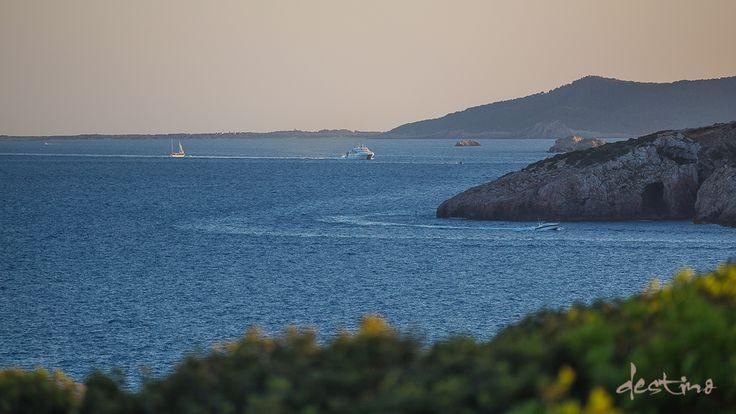 Panoramic views of the Mediterranean at Destino Ibiza
