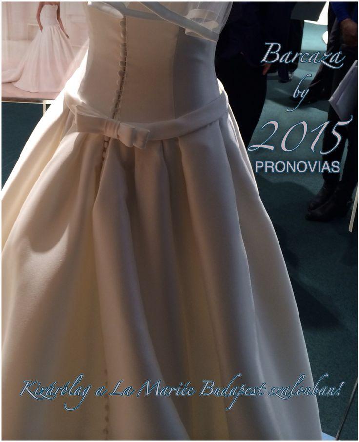 Barcaza esküvői ruha - 2015 Pronovias kollekció http://lamariee.hu/eskuvoi-ruha/pronovias/barcaza