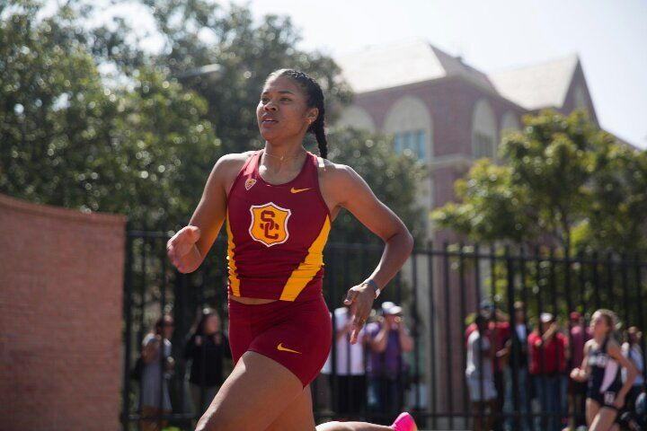 Kayla Richardson again took down the Philippine Record after having broken it just a week ago. Richardson finished second in heat 2 at the very famous Mt. Sac Relays at Mt. San Antonio.  Running for USC Richardson time of 53.81, broke her own Philippine Record and Junior Record. 54.   #Abu Sayyaf #Agence France-Presse #Airbnb #Filipino Americans #Filipinos #Manila #Philippines #President of the Philippines #Rappler #Rodrigo Duterte