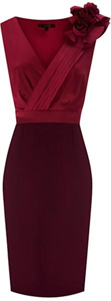 Coast ENGLAND   Parisienne Dress Purple