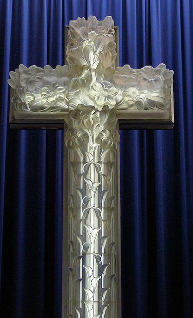 28 Lalique Cross detail, St Matthews Church by robinjay9a, via Flickr