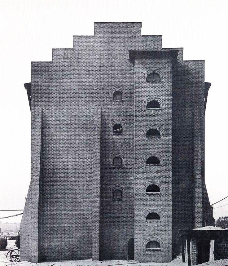 Sulphuric Acid Factory | 1911-1912 | Luban, Poland | Architect Hans Poelzig