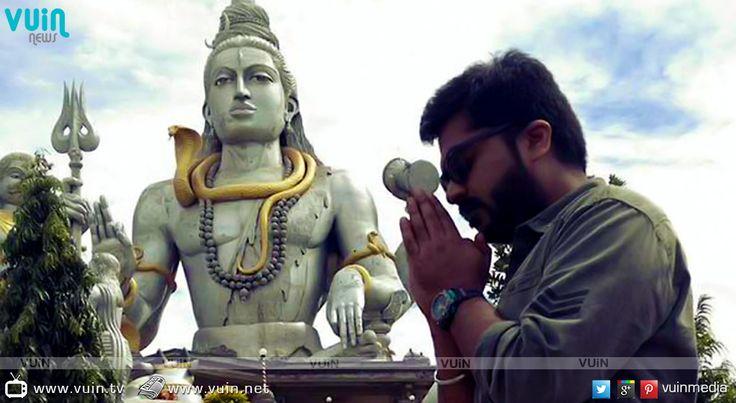 Actor Karthik reprimands STR!