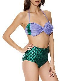 HOTTOPIC.COM - Disney The Little Mermaid Ariel Swim Top