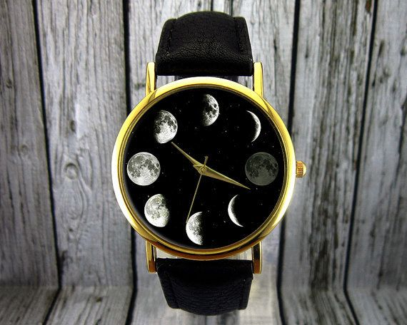 This moon phase watch: | 29 Stellar Accessories That Any Outer-Space Lover Will Want