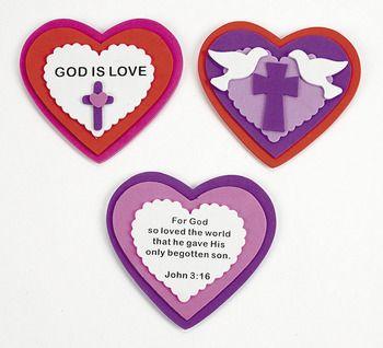 Religious valentine crafts