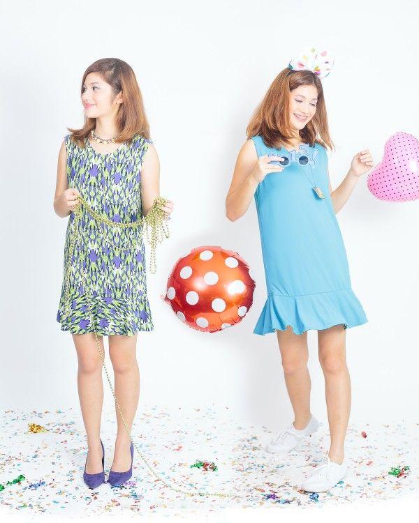 Bianca Reversible Peplum Dress