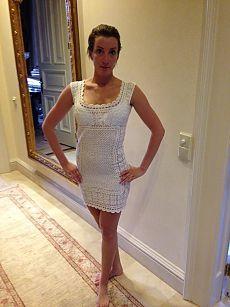 fehér ruha rövidben