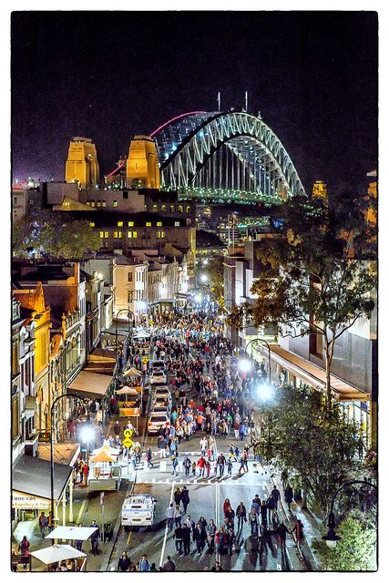The Rocks, Sydney, NSW, Australia Went here last weekend! Awesome place! Climbed the bridge had a lot of fun