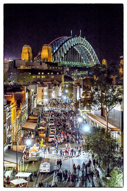 THE ROCKS | SYDNEY | NEW SOUTH WALES | AUSTRALIA: *Sydney Harbour Bridge*