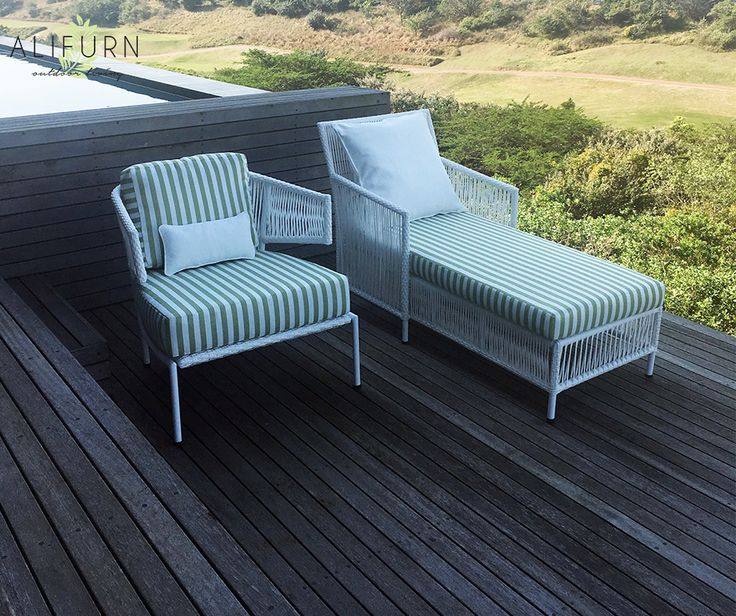 Hit LOVE if you think these BRAND NEW DESIGNS are as beautiful as we do! Introducing the Enhle sun lounger and tub chair… #OutdoorFurniture #PimpMyPatio