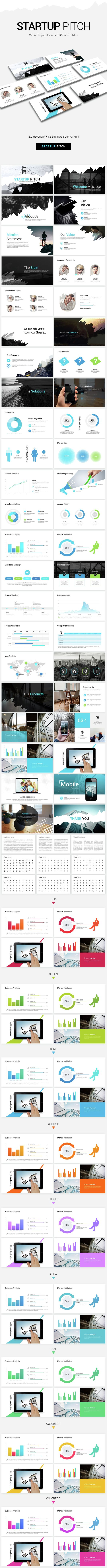 Startup Pitch PowerPoint Presentation Template. Download here…
