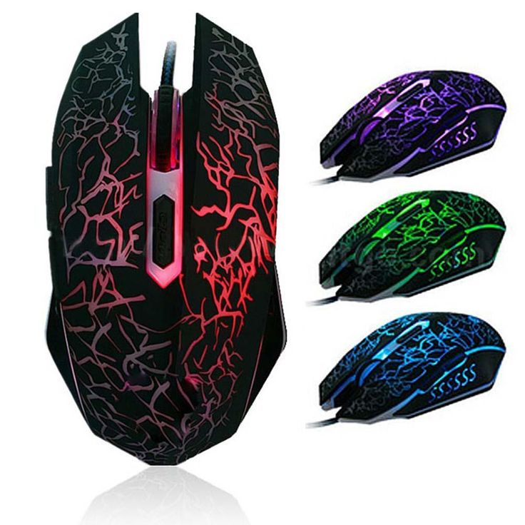 Promotion 3200DPI LED Optical 6D USB Wired Gaming Game Mouse Pro Gamer Computer Mice For PC Laptop High Quality #Affiliate