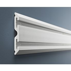 Gladiator 2-Pack 48-In L X 6-In H Gray Composite Storage Rails Gawc042