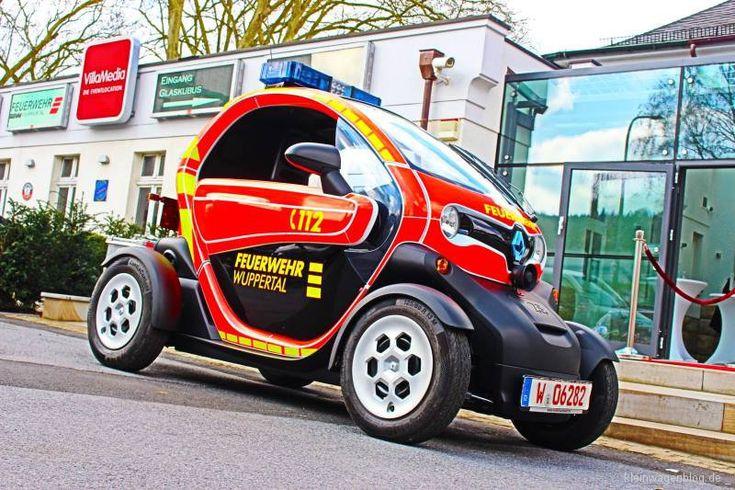 Renault Twizy als Feuerwehrfahrzeug