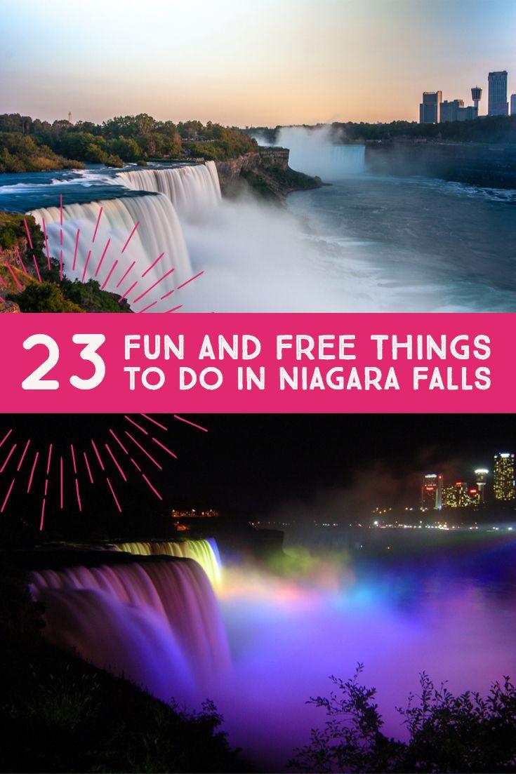 23 Fun and FREE Things To Do In Niagara Falls