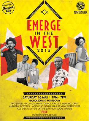 Emerge in the West Festival 2015