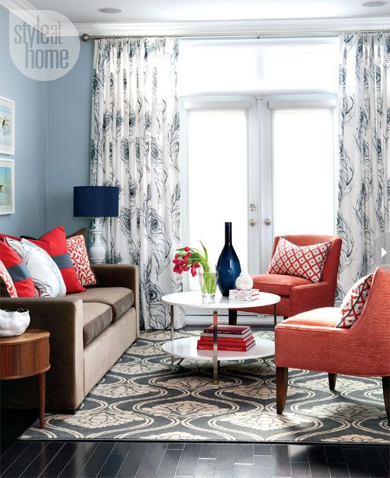 Playroom Color Scheme Decorating Living With And Loving A Brown Sofa