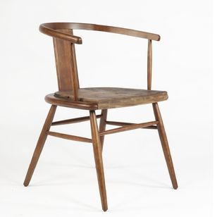Mid-century Modern Smith Dining Arm Chair - Wood Chair http://www.franceandson.com/the-smith-arm-chair.html