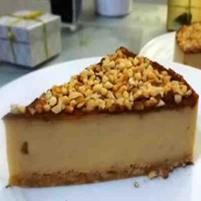 Tarta fría de turrón #tarta #turron #sinhorno