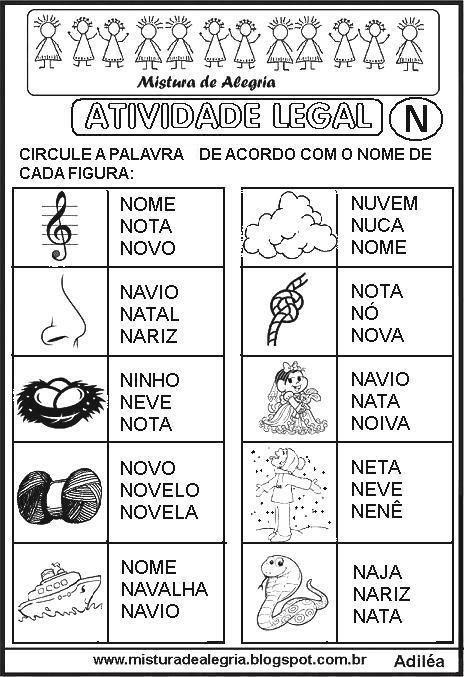 sequencia-alfabetica-atividade-legal-alfabetizacao-N-imprimir-colorir.JPG (464×677)