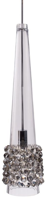 WAC Lighting MP-LED938 Kalysta 1 Light 3000K High Output LED Monopoint Mini Pend Black Ice / Dark Bronze Indoor Lighting Pendants