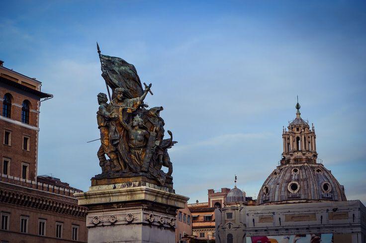 Plaza Venecia (Roma - Italy)