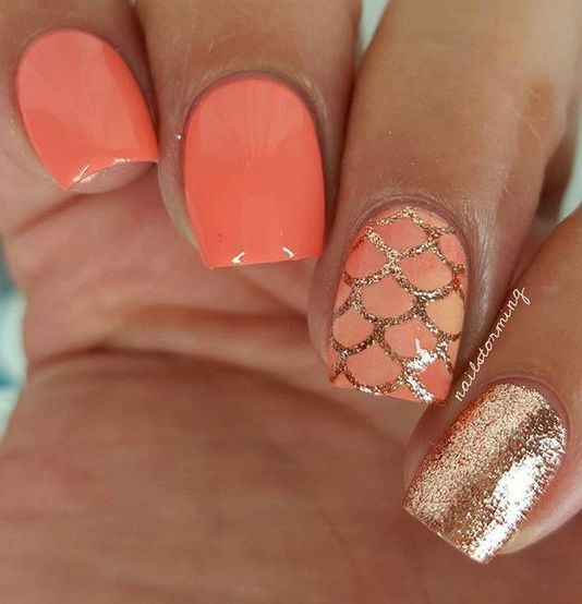 30+ Cool Tropical Nails Designs for Summer