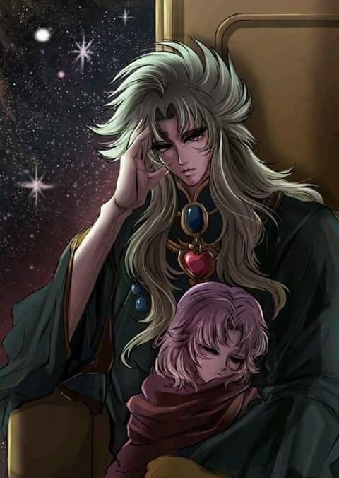 Shion Patriarca y Mu de Aries