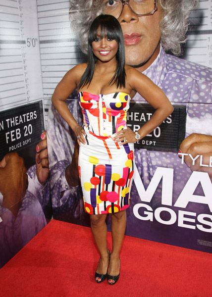 ♥ The Dress. (Worn By: Keisha Knight Pulliam)