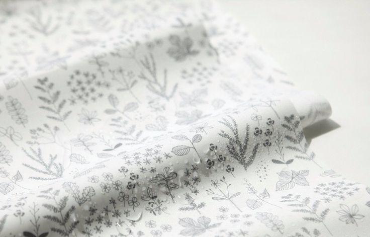1Y Laminated Fabric : Leaf - Dailylike Canada