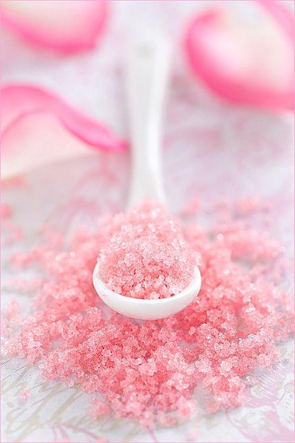 Rose Sugar - so pretty!