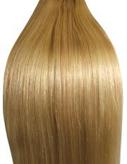 Ash Brown/Blonde Mix (#9/ #613) 20 Inch Double Wefted Set Clip In Hair Extensions