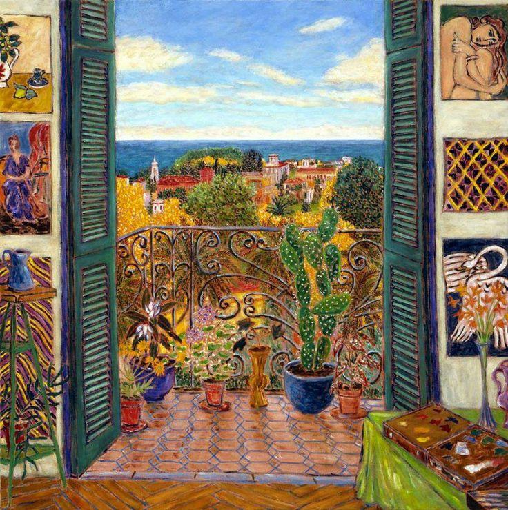 Matisse's Studio (La Regina/Nice, 1941)  60x60in,   by   Damian Elwes 2006