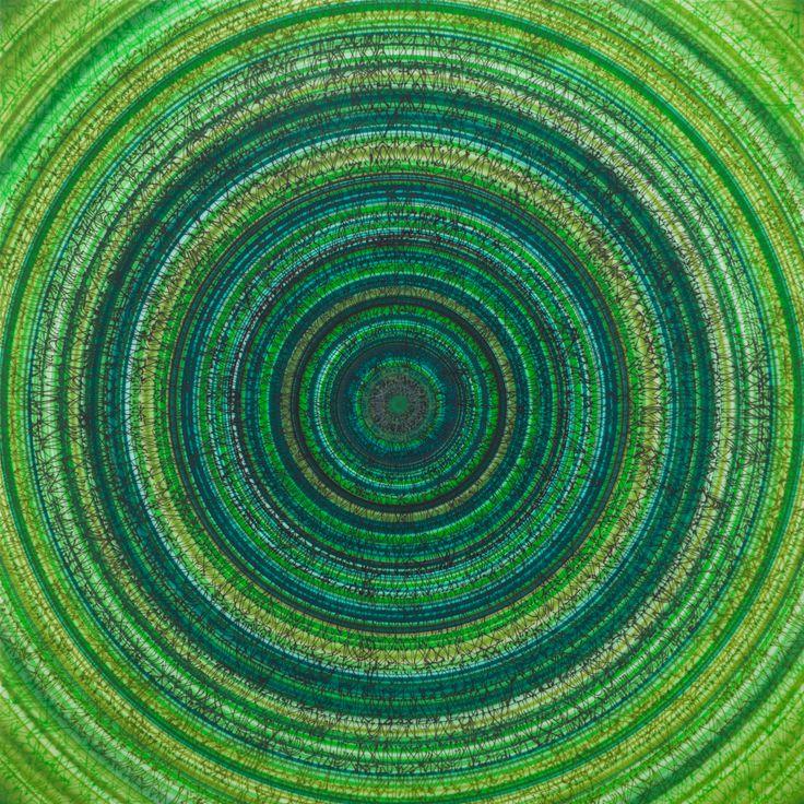 ArtBanana.com | art | Michal Škapa | Zion | 160 x 160 cm | Airbrush | buy online ->http://artbanana.cz/index.php?route=product/product&path=79&product_id=158 ArtBanana.com